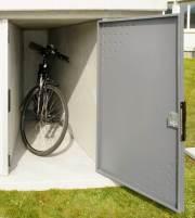 Fertiggaragen und Radboxen